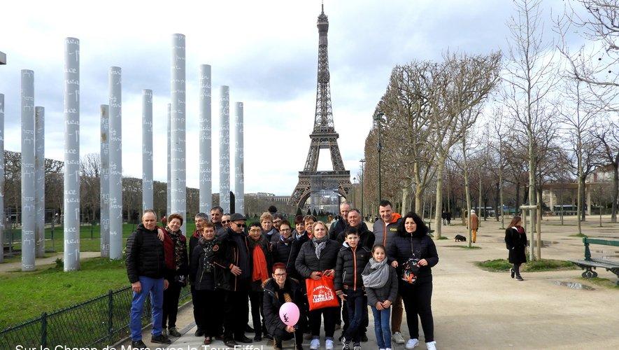 Les quilleurs à Paris