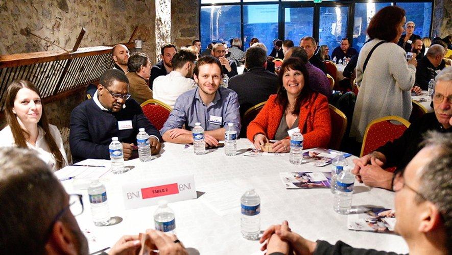 Les 36 membres du BNI avaient invité 120 entrepreneurs