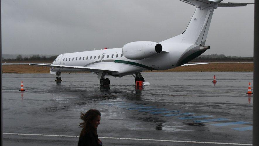 La compagnie Amélia assure les liaisons entre Rodez et Paris depuis le 20 janvier.