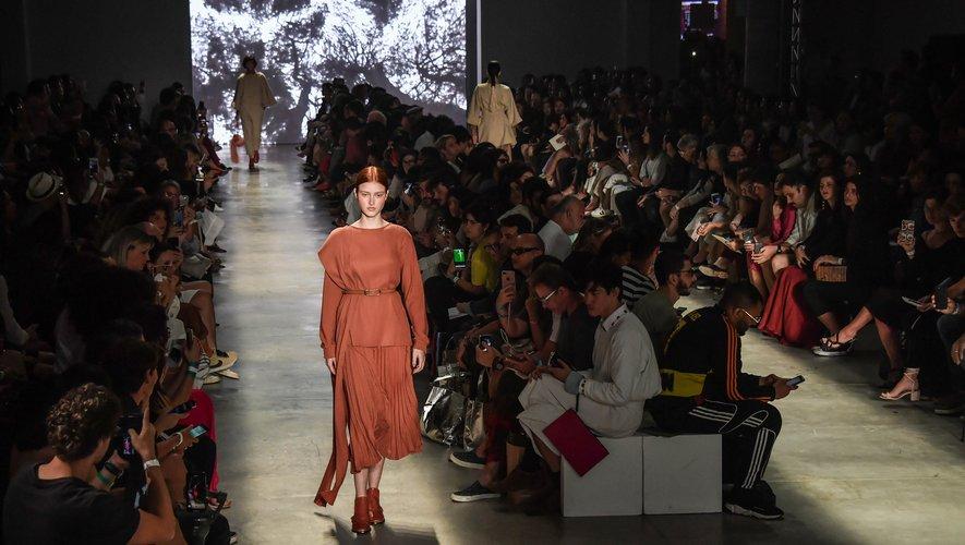 Défilé Neriage à la fashion week de São Paulo Brésil le 18 octobre 2019.