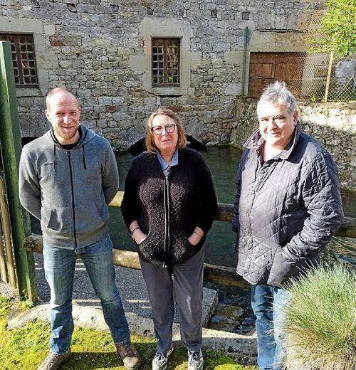 Au Moulin de Gourjan, tout est fait sur place, du ruisseau au labo, de manière manuelle et naturelle.