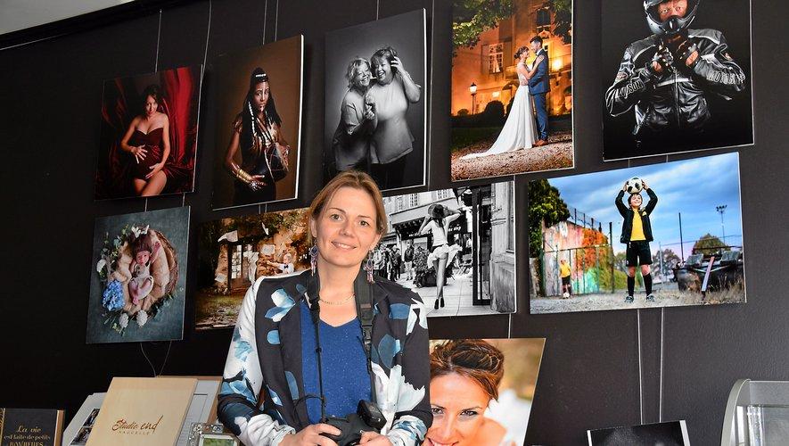 émeline Delsaut ne veut pas s'enfermer dans une mode mais elle ne s'interdit pas le côté créatif de la photo.