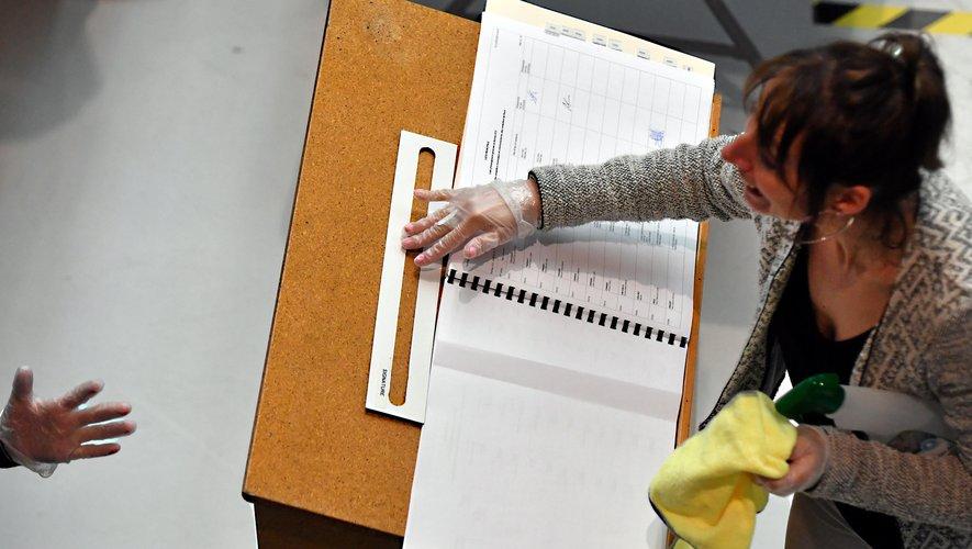 Une présence sans faille dans les bureaux de vote, malgré les contraintes.