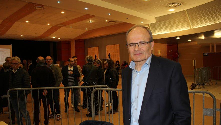 François Marty confortablement réélu pour 6 ans.