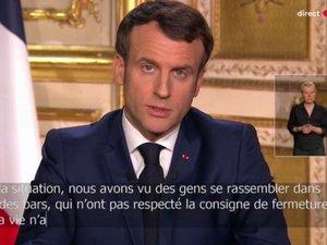 Confinement strict de tous les Français, a décidé ce lundi soir Emmanuel Macron.