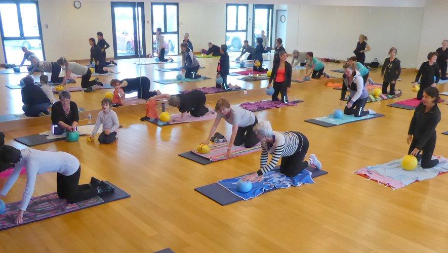 Des cours de fitness avec Rythme et mouvement