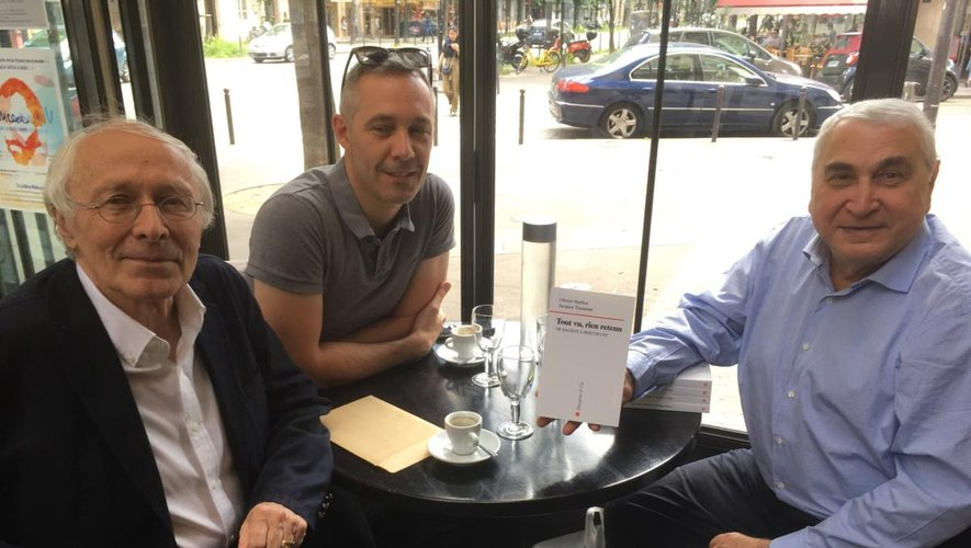 Marc Guillaume, Olivier Marbot et Jacques Trauman.