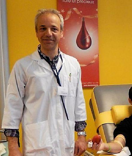 Nicolas Bosse-Platière, médecin référent du site de Rodez.