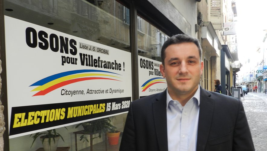 Jean Sébastien Orcibal, futur maire est en attente de son installation./Photo DDM