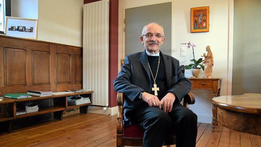 L'évêque François Fonlupt célèbre une messe aujourd'hui, à 18 heures, à suivre en direct sur le site rodez.catholique.fr.