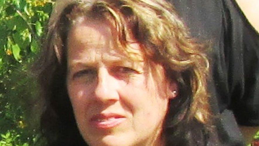 Michèle Couderc, maire de Saint-Santin.,