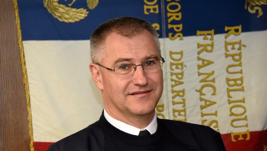 Le colonel Florian Souyris, directeur du Service départemental d'incendie et de secours.