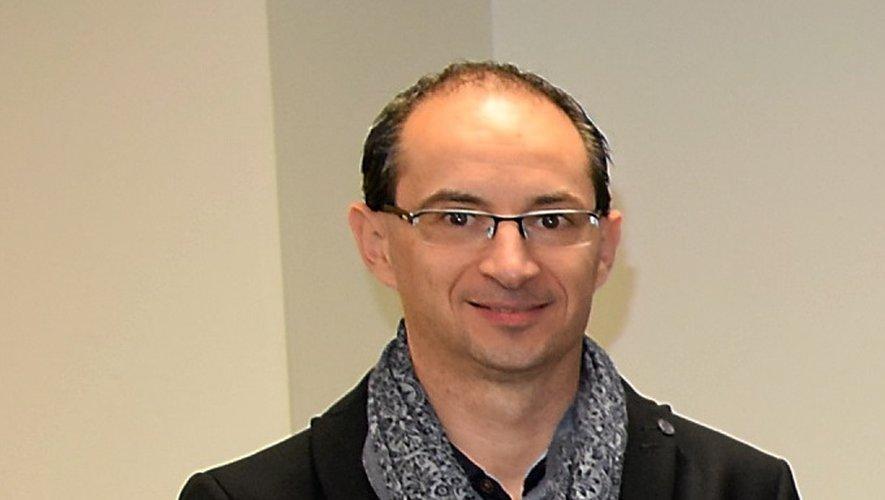 Sébastien Rebouys, directeur du Centre Leclerc l'Estréniol.