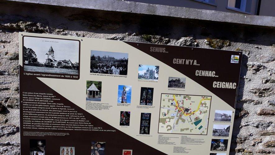 Les visiteurs pourront se documenter en consultant le panneau.