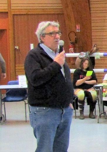 Jean-Marc Calvet encourage ses administrés à respecter les consignes sanitaires.