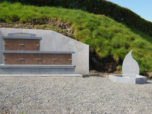 Le Columbarium et le Jardin du Souvenir.