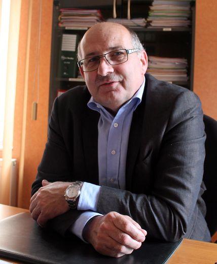 Jacques Molières, président de la chambre d'agriculture.