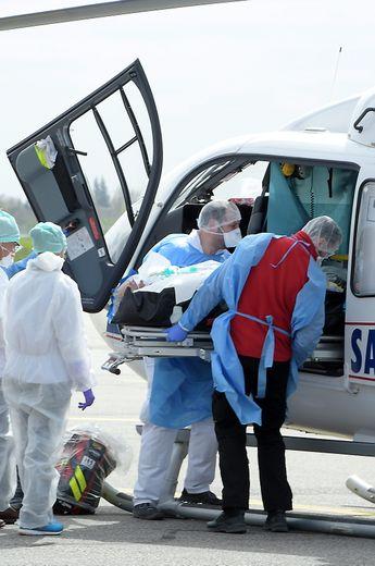 Les transferts de patients entre le Grand Est et l'Occitanie se poursuit.