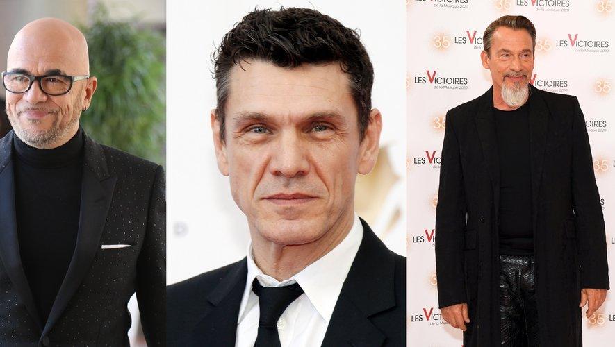 """Pascal Obispo, Marc Lavoine et Florent Pagny unissent leurs voix sur le titre inédit """"Pour les gens du secours"""""""