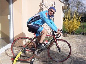 Le home-trainer, une bonne alternative pour les cyclistes de l'ECVD.