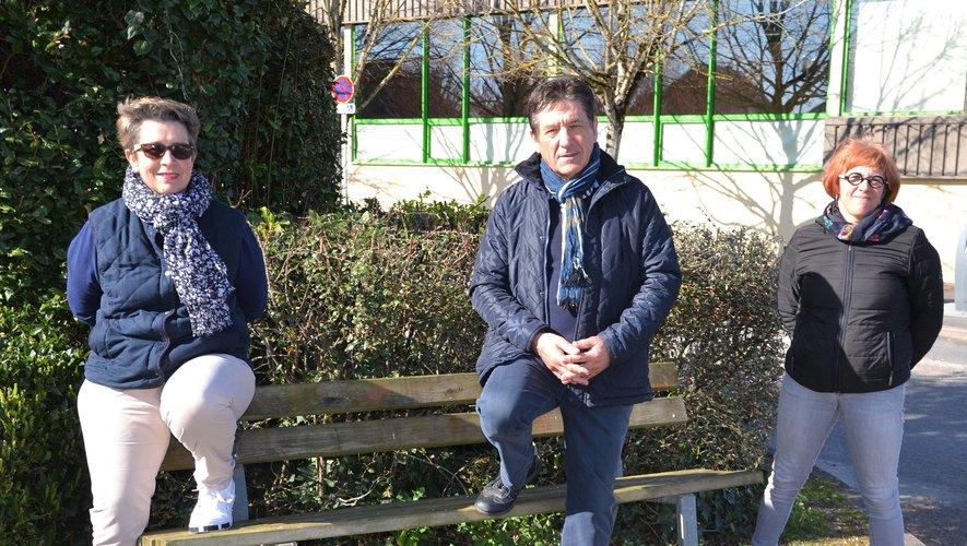 Cécile, André et Anne-Laure, des bénévoles toujours motivés.
