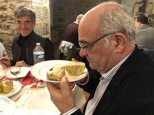 Jean-Pierre Benazet (ci-dessus) est l'auteur de « L'Aveyron l'autre pays du foie gras » paru aux éditions Toute latitude. /Photo MCB