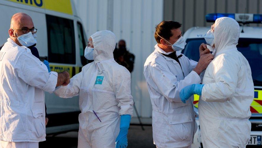 La France recense 7.560 personnes mortes à cause du Covid-19 depuis le début de l'épidémie.