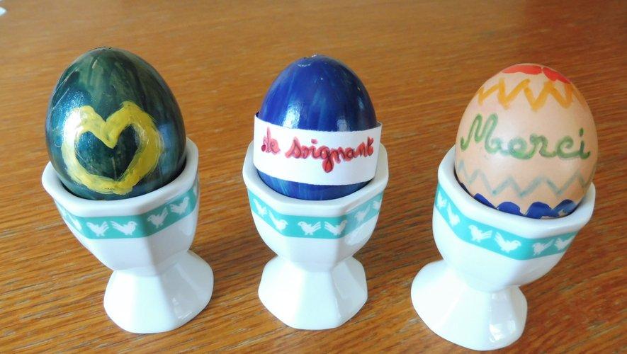 Décorer ses œufs à la maison