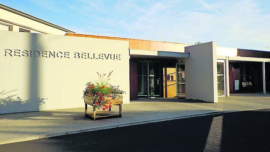 La résidence Bellevue de Decazeville.