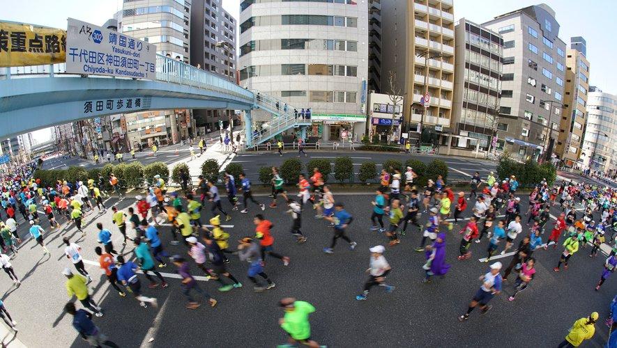 Il y a deux applications: une pour ceux qui veulent terminer en une seule fois le marathon et une autre pour ceux qui veulent étaler leur effort sur plusieurs jours.