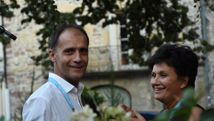 Pascal Galopin, directeur artistique et Annie Martin, à l'origine  de sa création, qui a passé la main.