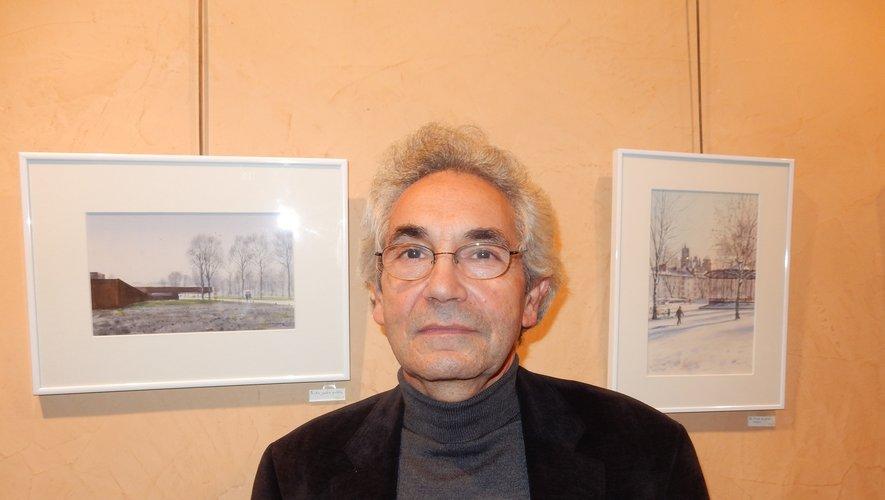 Le peintre et sculpteur Gérard Fournier.
