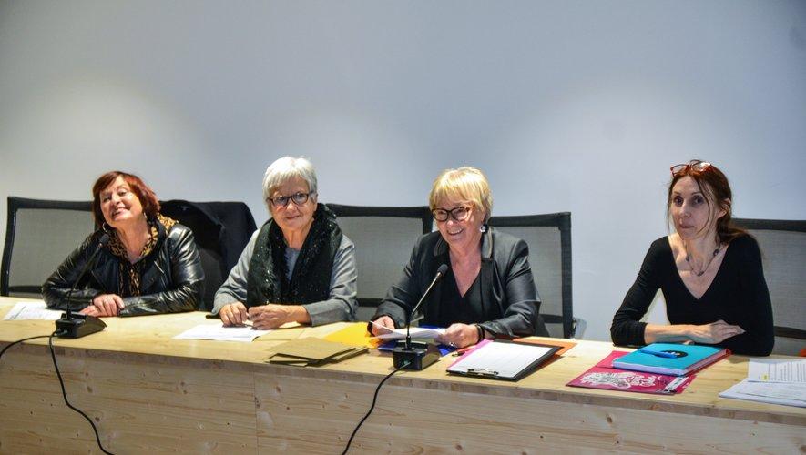 Sophie Fraissine a été renouvelée à son poste de présidente de l'association.