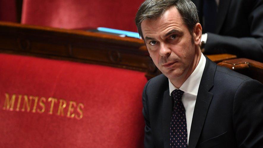Le Ministre de la Santé Olivier Véran à l'Assemblée nationale le 7 avril 2020