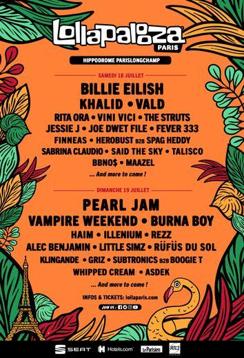 Le festival parisien Lollapalooza a annulé son édition 2020, prévue les 18 et 19 juillet