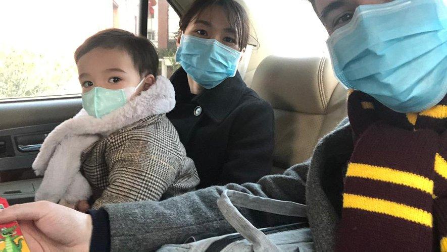 Avec femme et enfant, Nicolas a passé plus d'un mois en confinement strict. Le retour à la normale a été progrssif,. Les masques restent obligatoires.Repro