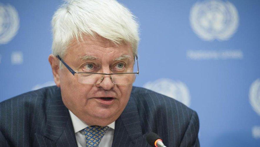 Hervé Ladsous a été secrétaire général adjoint aux opérations de maintien de la paix de l'ONU de 2011 à 2016. Repro