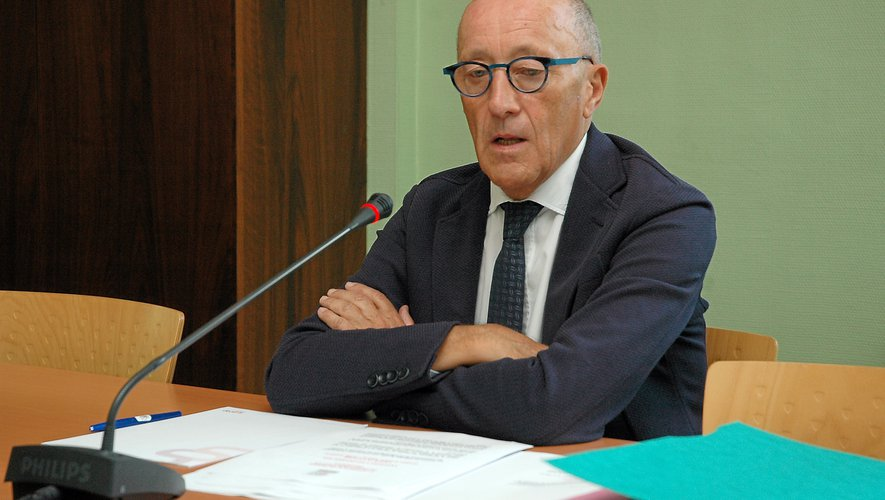 Jean-Louis Chauzy, président du Ceser.