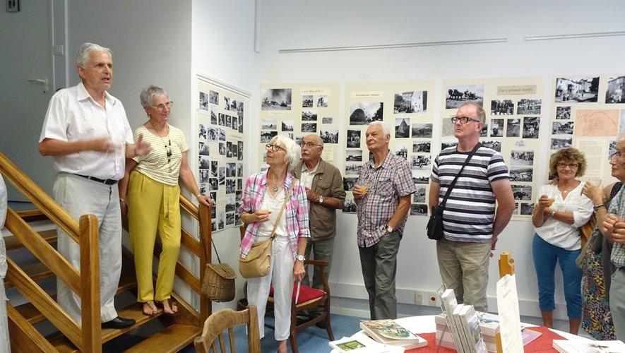 Août 2019, inauguration du musée provisoire dédié à Eugène Viala