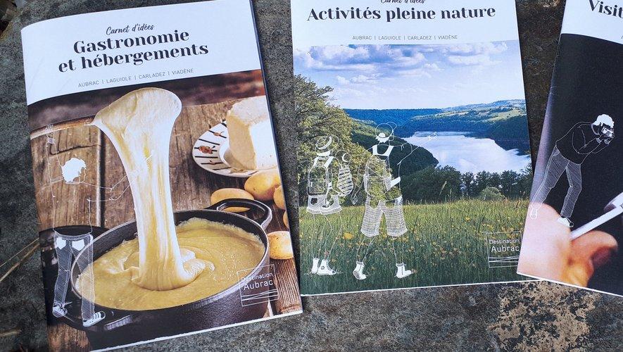 Les 3 guides de l'office de tourisme