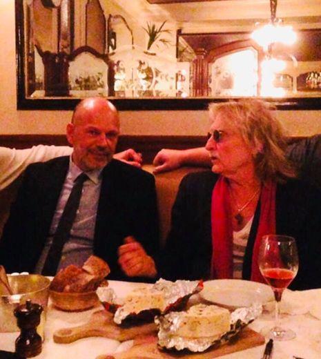 Yves Censi avait partagé la table de Christophe, autour de produits aveyronnais.