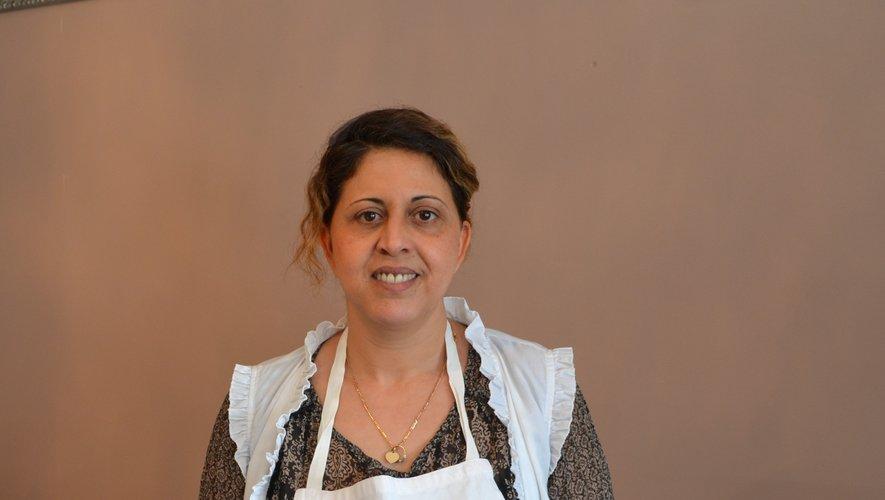 Sarah Bos a retrouvé ses fourneaux pour cuisiner tagines et coucous.