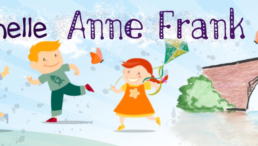 Bienvenue sur le site web de l'école maternelle Anne-Frank