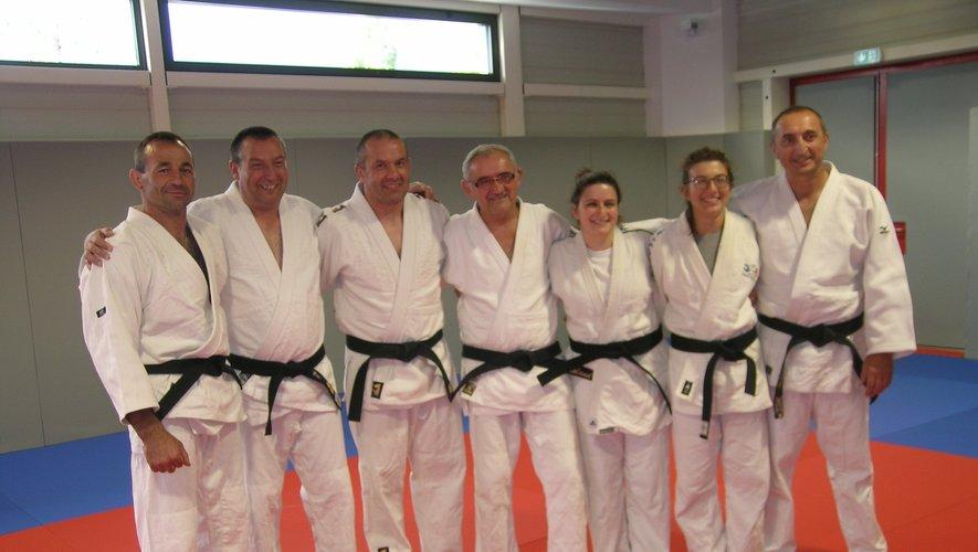 L'association compte actuellement sept ceintures noires, dont deux féminines.