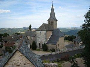 Golinhac, un village paisible.