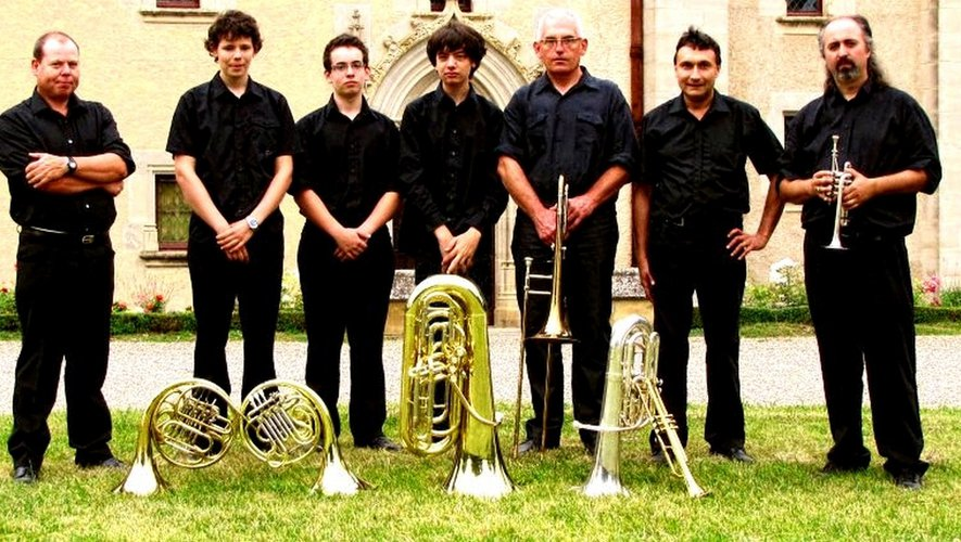 L'ensemble « cuivres » en 2012.