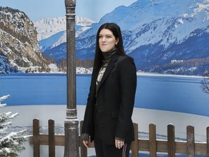 La chanteuse britannique Romy Madley au Grand Palais de Paris, le 5 mars 2019.