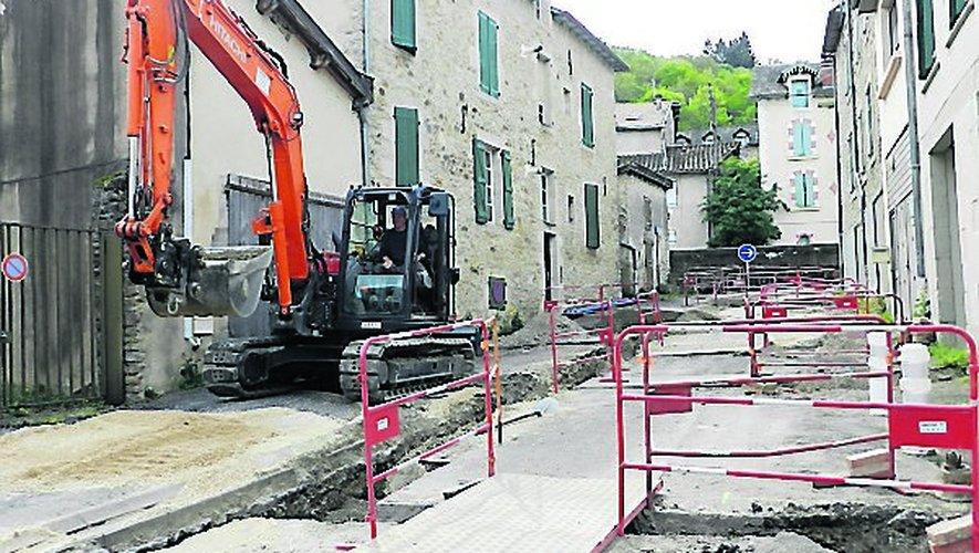 Ces travaux sont entrepris dans les rues de la Treille Basse et du Jardin Royal.