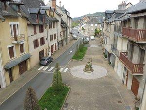 De la place du Moulin à l'avenue d'Estaing