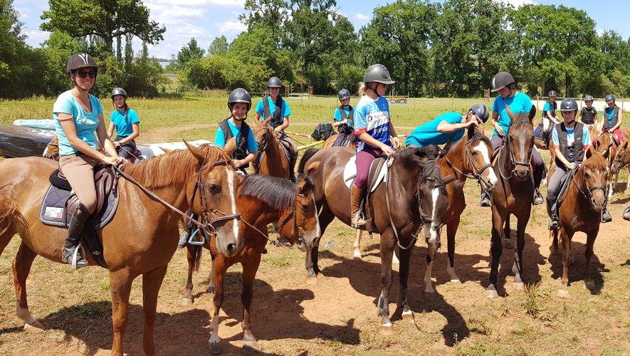 Chevaux et cavaliers vont bientôt pouvoir reprendre en petits groupes.